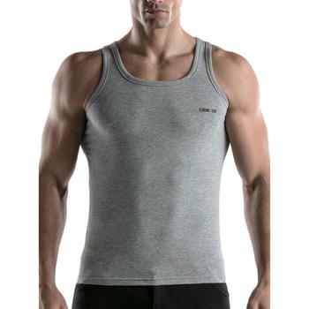 Vêtements Homme Débardeurs / T-shirts sans manche Code 22 Débardeur Basic Code22 Gris