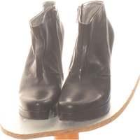Chaussures Femme Bottines Freelance Paire D'escarpins  36 Noir