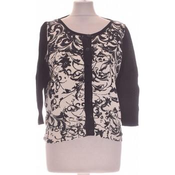 Vêtements Femme Gilets / Cardigans Jacqueline Riu Gilet Femme  36 - T1 - S Noir