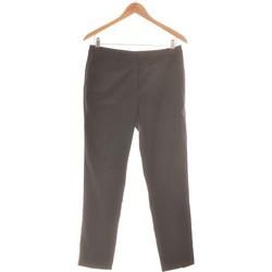 Vêtements Femme Pantalons fluides / Sarouels Galeries Lafayette Pantalon Droit Femme  38 - T2 - M Noir