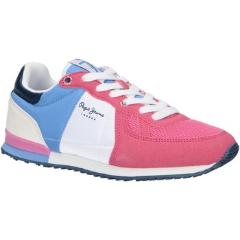 Chaussures Fille Multisport Pepe jeans PGS30497 SYDNEY Rosa