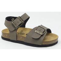 Chaussures Enfant Sandales et Nu-pieds Plakton PLAKTON KIDS LOUIS TAUPE/CARBON Marron