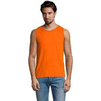 Vêtements Homme Débardeurs / T-shirts sans manche Sols Justin camiseta sin mangas Naranja