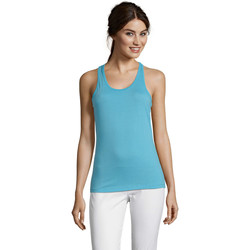 Vêtements Femme Débardeurs / T-shirts sans manche Sols Justin camiseta sin mangas Azul