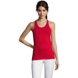 Vêtements Femme Débardeurs / T-shirts sans manche Sols Justin camiseta sin mangas Rojo