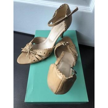 Chaussures Femme Sandales et Nu-pieds Minelli Sandales Minelli crème Autres