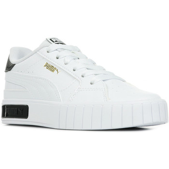 Chaussures Fille Baskets basses Puma Cali Star PS blanc