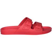Chaussures Homme Mules Cacatoès Rio de janeiro Rouge