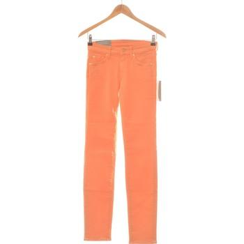 Vêtements Femme Jeans slim 7 for all Mankind Jean Slim Femme  34 - T0 - Xs Orange