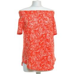 Vêtements Femme Tops / Blouses H&M Top Manches Courtes  34 - T0 - Xs Orange