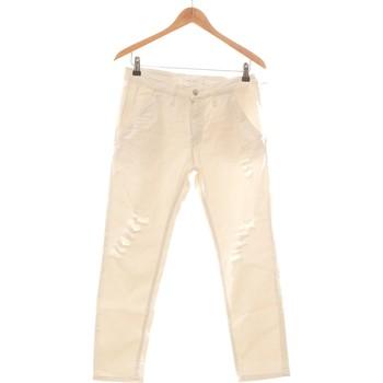 Vêtements Femme Pantalons Iro Pantalon Droit Femme  36 - T1 - S Blanc