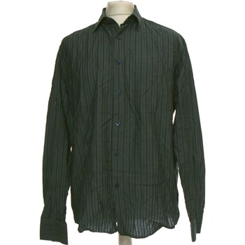 Vêtements Homme Chemises manches longues Azzaro Chemise Manches Longues  42 - T4 - L/xl Gris