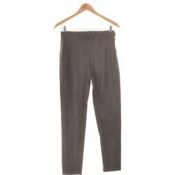 Vêtements Femme Pantalons Zara Pantalon Droit Femme  38 - T2 - M Noir