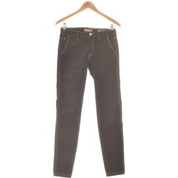 Vêtements Femme Pantalons Salsa Pantalon Droit Femme  36 - T1 - S Noir