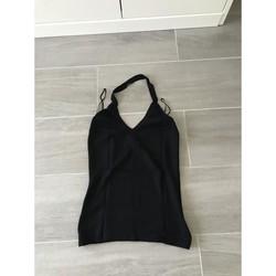 Vêtements Femme Débardeurs / T-shirts sans manche Mango Haut Mango Noir