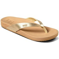 Chaussures Femme Tongs Reef Tong Femme CUSHION COURT couleur tan/champagne Champagne