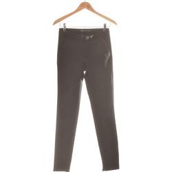 Vêtements Femme Pantalons Zara Pantalon Slim Femme  36 - T1 - S Noir
