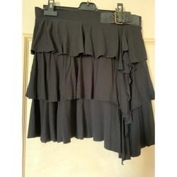 Vêtements Femme Jupes Morgan Jupe à volants Noir