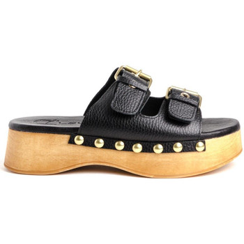 Chaussures Femme Mules Claudia WODD Marron