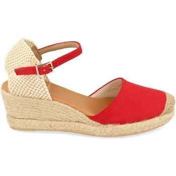 Chaussures Femme Espadrilles Shoes&blues SB-22001 Rojo