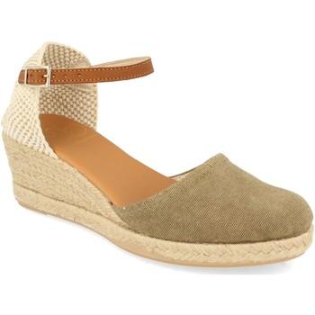 Chaussures Femme Espadrilles Shoes&blues SB-22002 Kaki