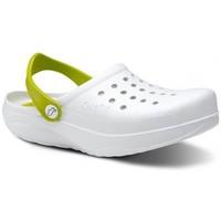 Chaussures Homme Sabots Feliz Caminar Sabots sanitaires cinétiques - Happy Walking Blanc