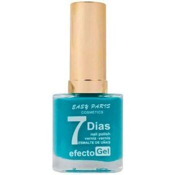 Beauté Femme Vernis à ongles Easy Paris Vernis à ongles effet Gel n°037   13ml Bleu