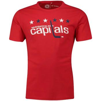 Vêtements Homme T-shirts manches courtes Fanatics 1878MURD3ADWCA Rouge
