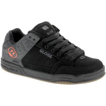 Chaussures Homme Chaussures de Skate Globe TILT black split orange Noir