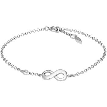 Montres & Bijoux Femme Bracelets Fossil Bracelet  Infinite Love Blanc