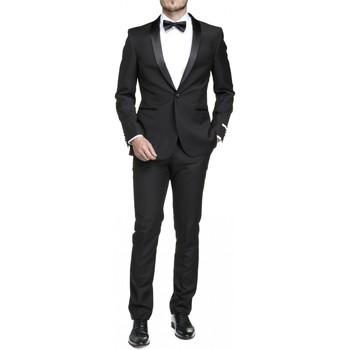 Vêtements Homme Costumes  Leader Mode Costume 2 pièces Noir