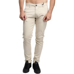 Vêtements Homme Chinos / Carrots Leader Mode Chino uni Beige