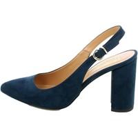 Chaussures Femme Sandales et Nu-pieds L'angolo 140007.06_34 Bleu
