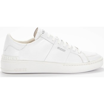 Chaussures Homme Baskets basses Guess Sneaker Verona Blanc