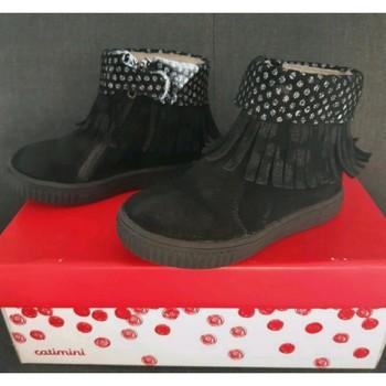 Chaussures Fille Bottines Catimini Bottines Catimini Noir