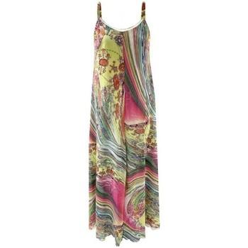 Vêtements Femme Robes longues Georgedé Robe Estela en Mousseline Imprimée Multicolore Multicolore