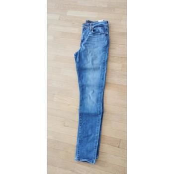 Vêtements Femme Jeans slim Levi's Jean Levi's bleu clair taille haute Bleu