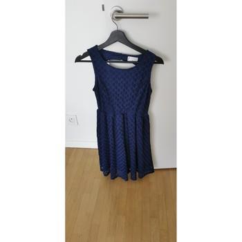 Vêtements Femme Robes courtes Moony Mood Robe bleu dentelle Moony Mood Bleu