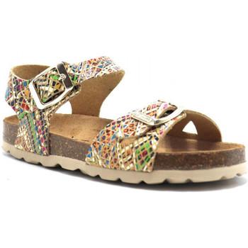 Chaussures Enfant Sandales et Nu-pieds Pastelle Salome Beige