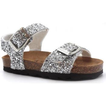 Chaussures Fille Sandales et Nu-pieds Pastelle Salome Argenté