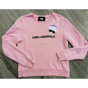 Vêtements Femme Sweats Karl Lagerfeld Sweat-shirt femme rose poudré Karl Lagerfeld Rose