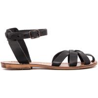 Chaussures Femme Sandales et Nu-pieds Gianluca - L'artigiano Del Cuoio 503-NERO-FT NERO