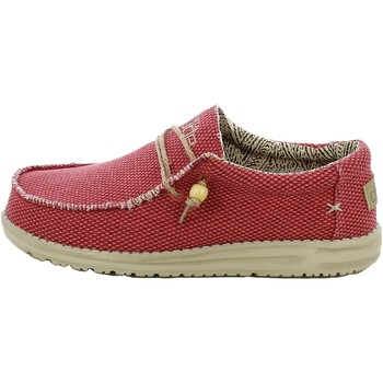 Chaussures Homme Mocassins Hey Dude WALLYBRAIDED.11_43 Rouge