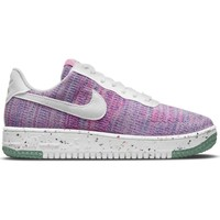 Chaussures Femme Baskets basses Nike Air Force 1 Crater Flyknit Violet