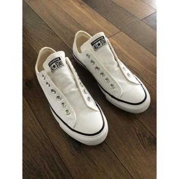 Chaussures Femme Baskets basses Converse Converse Chuck Taylor All Star Slip Core Basics - Blanc Blanc