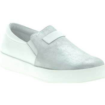 Chaussures Femme Slip ons Mally M007 Blanc