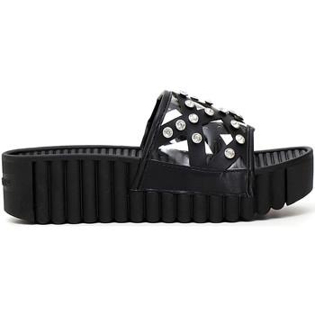 Chaussures Femme Mules Café Noir FD9020 Noir