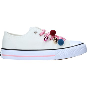 Chaussures Enfant Baskets mode Miss Sixty S21-S00MS911 Blanc