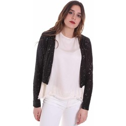 Vêtements Femme Gilets / Cardigans Fracomina FR20SP698 Noir