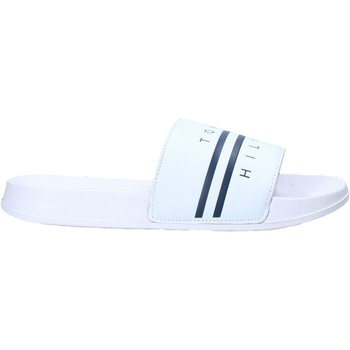 Chaussures Enfant Mules Tommy Hilfiger T3B0-31123-1174100- Blanc